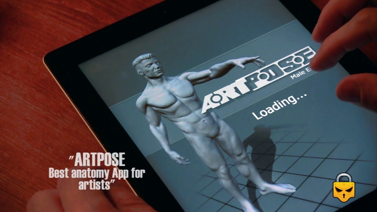 ARTPOSE Review, best anatomy App for artists - YouTube