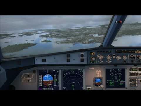 ARNZX World Tour of Europe Flight #1 - Zurich - Bergen