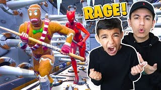 Attempting To Beat Cizzorz Death Run 2.0 With Little Brother! RAGE