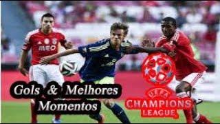 Ajax vs Benfica - Liga Dos Campeões - Gols & Melhores Momentos