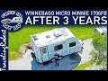 Winnebago Micro Minnie 1706FB After 3 Years Review of RV Travel and Camping