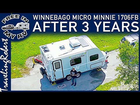 Winnebago Micro Minnie 1706FB After 3 Years of RV Travel and Camping