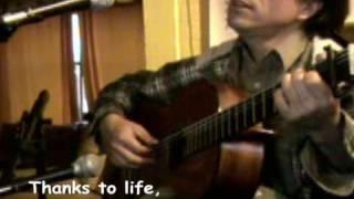 Gracias a la vida - Violeta Parra (cover) (subtitled)