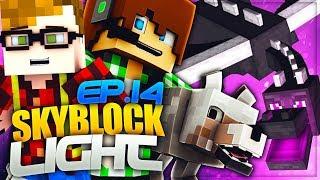 CI HANNO RUBATO L'UOVO DI DRAGO - Minecraft Skyblock Light con Surry e St3pny - E14