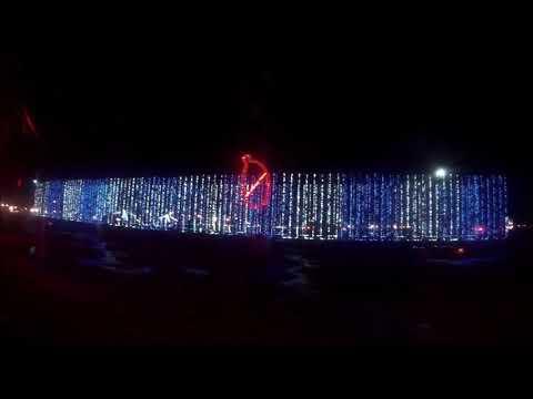 Coney Island, Cincinnati, 2017 X-mas lights.