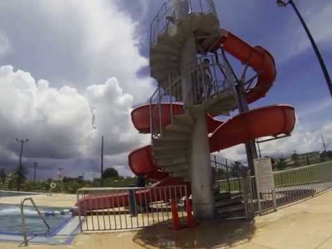 The Slide @ Dededo Pool
