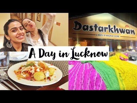 """LUCKNOW VLOG   FIRST TIME IN """"THE CITY OF NAWABS"""""""