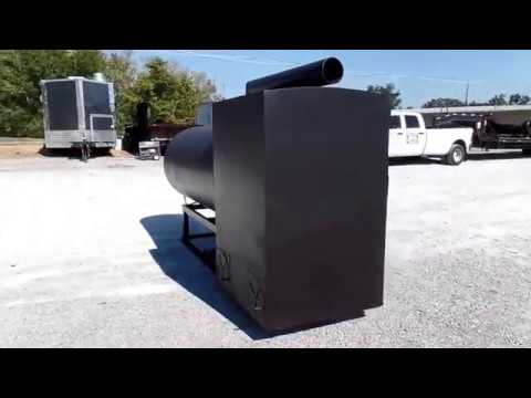 500gal Patio Smoker XL Video
