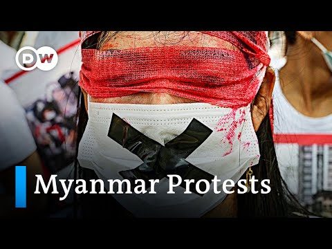 Myanmar military junta threats protesters with lethal force | DW News