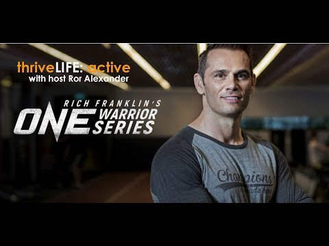 Talking Asia MMA with Rich 'Ace' Franklin, VP of ONE Championship