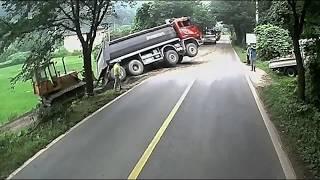 Kumpulan Video  Kecelakaan Truk # 3 | Truck Fail Compilation Part 3 | 18+