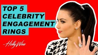 Kim Kardashian's Ridiculously Expensive Engagement Ring Tops Our List!!   Hollywire