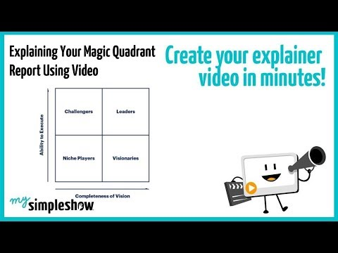 Explaining Your Magic Quadrant Report Using Video - mysimpleshow