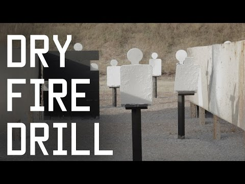 Dry Fire Drill | Rogers Range | Practice Shooting Techniques | Tactical Rifleman