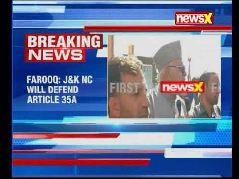 NC President Farooq Abdullah blames state and Centre for NIA raids