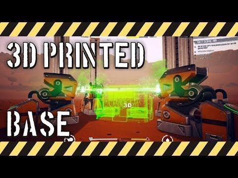 JCB Pioneer: Mars - 3D Printed Bases