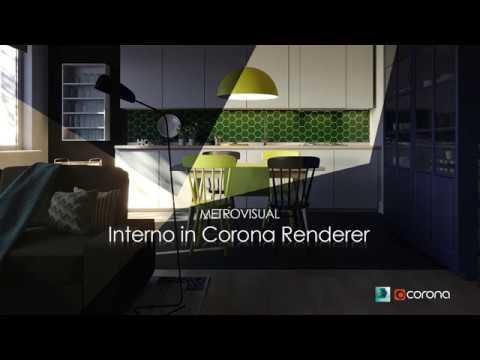 Lesson 6 Corona Renderer - Visualizzazione di un interno in Corona 1.7