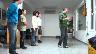 Урок по НАРОДНИ ТАНЦИ - Загрявка - Солидарен център Варна