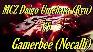 3 24 2016 mcz daigo umehara ryu vs gamerbee necalli streetfighterv 5 sf5