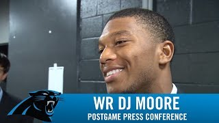 Moore: Frustrating not making that play for the team