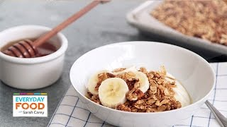 Crunchy Honey-pecan Granola - Everyday Food With Sarah Carey