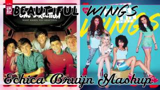 One Direction vs Little Mix - Beautiful Wings (mashup)