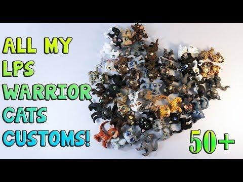 50+ LPS WARRIOR CAT CUSTOMS!