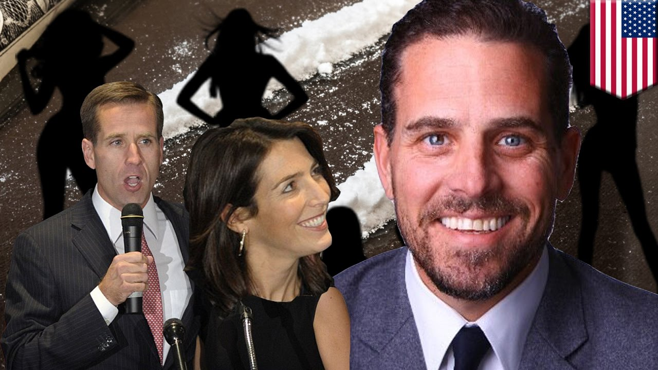 Hunter Biden is having an affair with his dead brother's ...