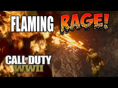 MOST ANGRY COD PLAYER EVER! COD WW2 Online Rage!