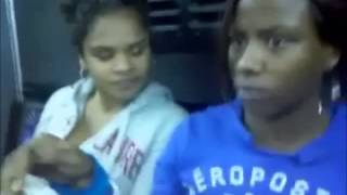 White Man gets owned (schooled) by Black Girl & Redbone on using the N word
