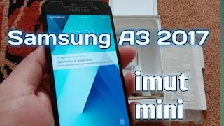 Samsung Galaxy A3 2017 unboxing english - we check the boxing of the new Samsung Galaxy A3 2017 and .