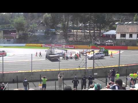 2012 Formula 1 - 02 September Sunday - Belgium GP - SPA - Start Crash