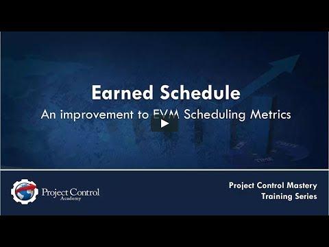 Earned Schedule- An improvement to EVM Scheduling Metrics