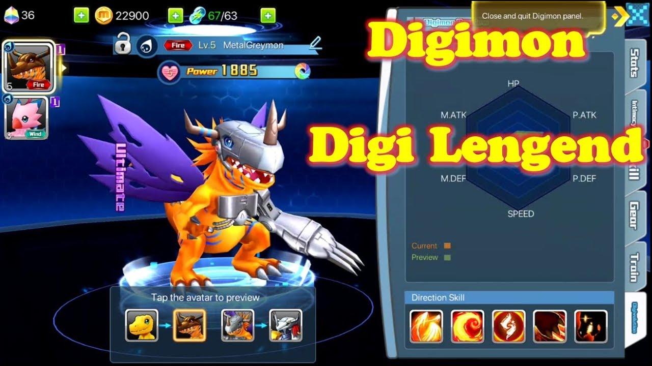 Trải Nghiệm Game Mobile Digi Legend – Những Con Thú Digimon