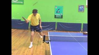 Table Tennis - foot work