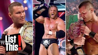 8 times a championship changed hands multiple times in one night: WWE List This! thumbnail