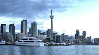 Most Beautiful View Of Toronto Waterfront ( Toronto Timelapse )