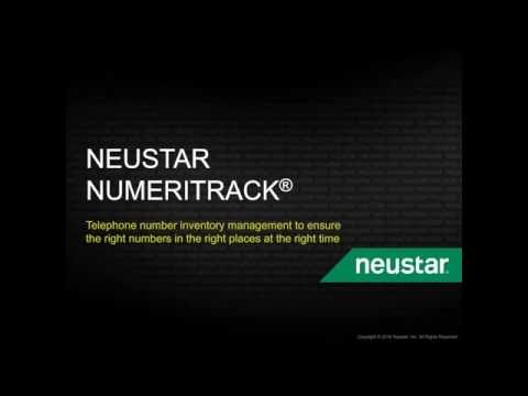 Neustar NumeriTrack: The Right Telephone Numbers in the Right Places at the Right Times.