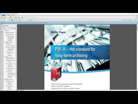 How To Edit A PDF/A File Using Adobe Acrobat (that Will Only Open As Read-only)