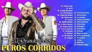 El Fantasma - Los Dos Carnales Puros Corridos Mix 2021 | 30 Grandes Éxitos