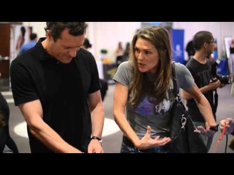 park with PAIGE TURCO at the 2014 GBK MTV Movie Awards Gift Lounge park@GBKpreMTV