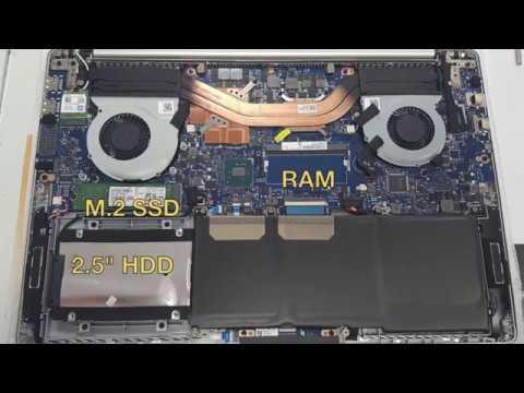 Замена жесткого диска, установка SSD и оперативной памяти