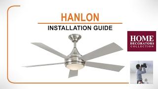 Hanlon Ceiling Fan Installation Guide