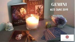 GEMINI MID JUNE 2019 Tarot~ 4 ACES!!!! Holy Shi**! Purely Divine!