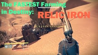 Destiny NEW Mars Chest Run - FASTEST Chest & Relic Iron Farm Run - 130+ Relic Iron/Hr