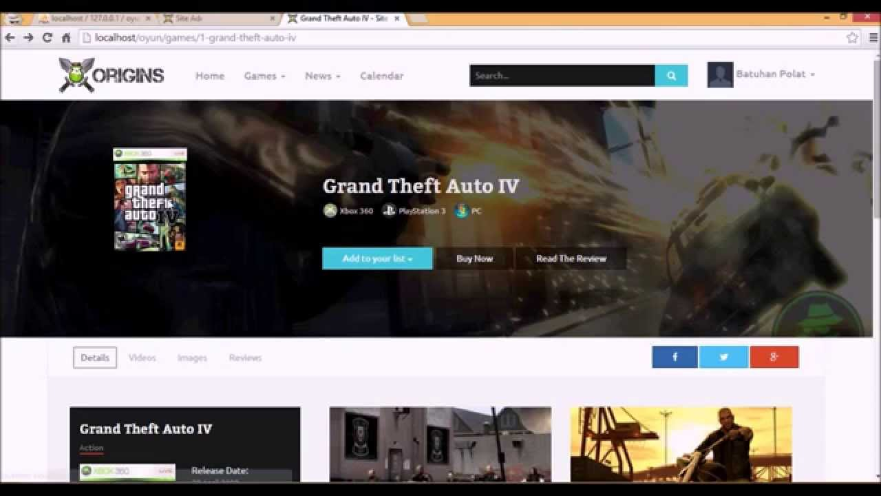 PHP Oyun Portal Scripti Kurulumu - PHP Video Game Portal Scripts - Nulled Scripts - Warez Scripts