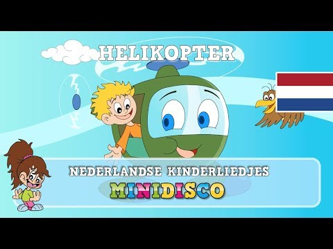 Helikopter | Kinderliedjes | TEKENFILM | Liedjes voor peuters en kleuters | Minidisco