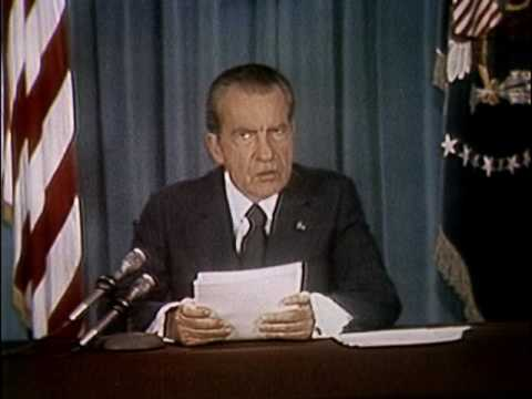 Nixon Watergate Speech