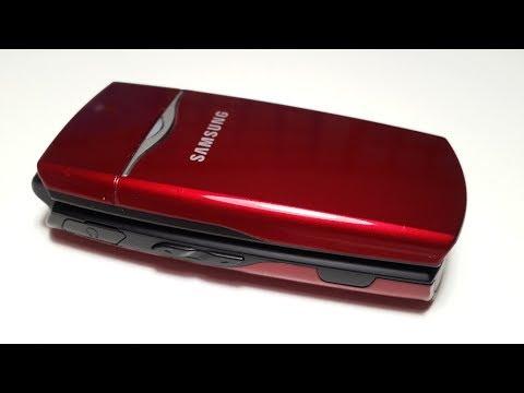 Samsung X210 раскладушка обзор ретро телефона