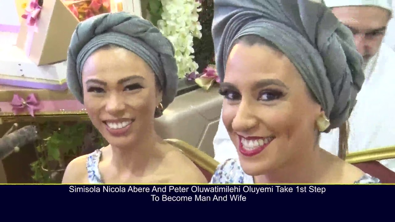 Download SIMISOLA ABERE AND PETER OLUWATIMILEHIN OLUYEMI TAKE FIRST STEP TO BECOME MAN AND WIFE